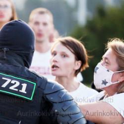 Poliisiväkivallan on loputtava Valko-Venäjällä!